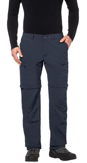 VAUDE Farley IV Spodnie długie Mężczyźni niebieski